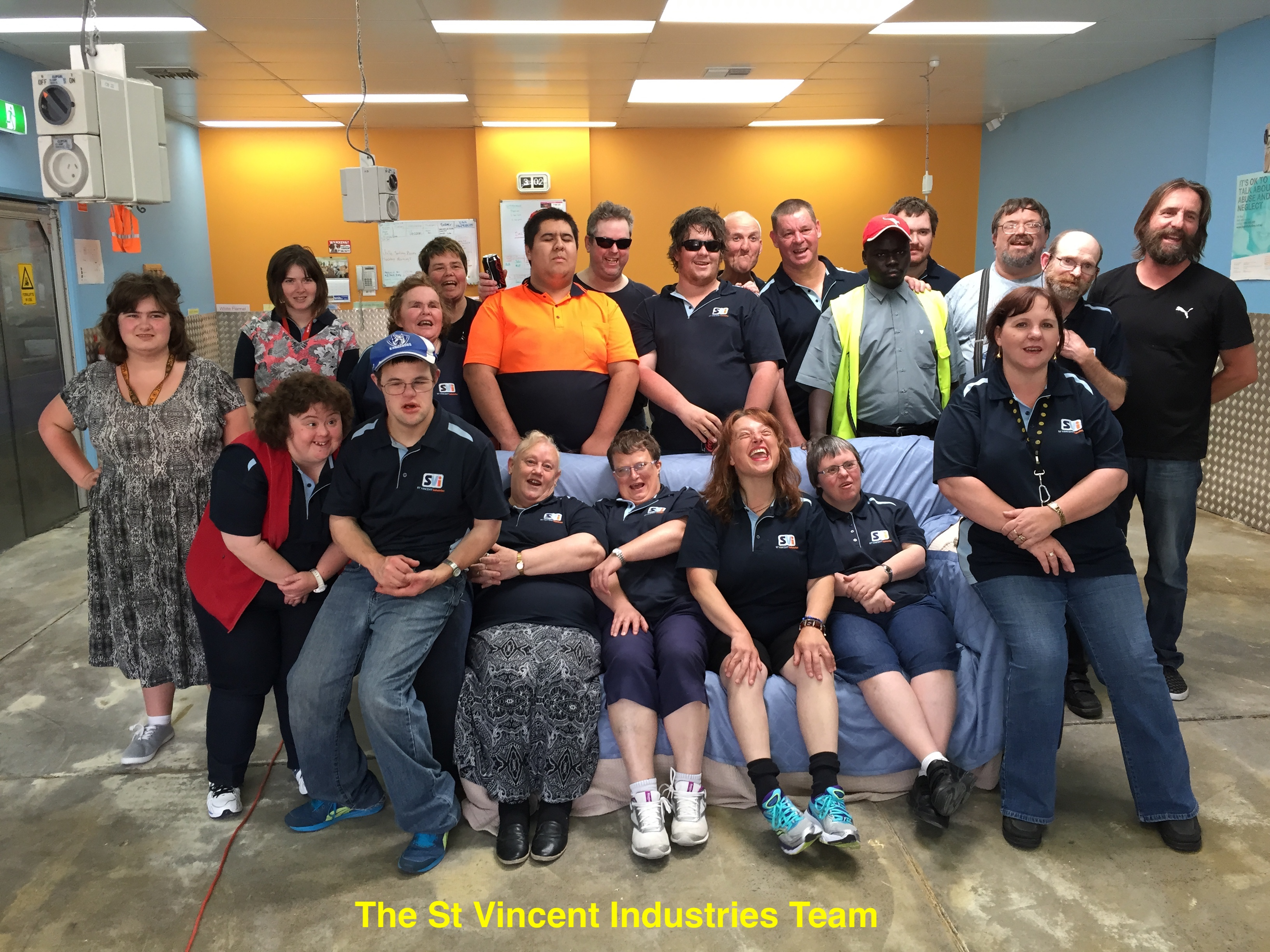 St Vincent Industries - group photo